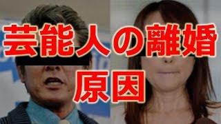 【過去】芸能人夫婦の離婚原因 Part 1 宜しければ、チャンネル登録お願...