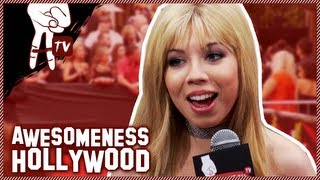 Jennette McCurdy MTV Movie Awards Red Carpet Interview - Awesomeness Hollywood