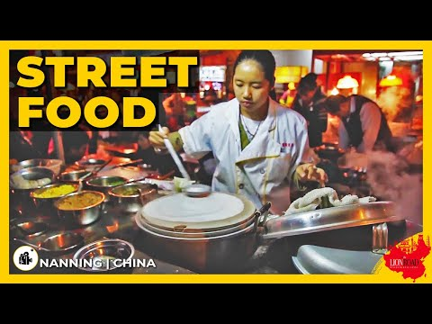 Delicious street food in NANNING