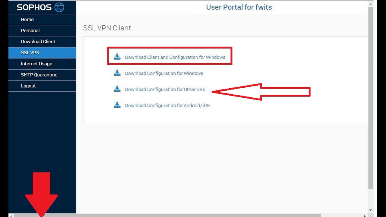 How To Configure Ssl Vpn In Sophos