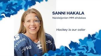 Naisten MM-ehdokkaat esittäytyvät - Hyökkääjä Sanni Hakala
