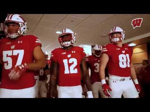 Wisconsin Badgers Football Pump Up 2018
