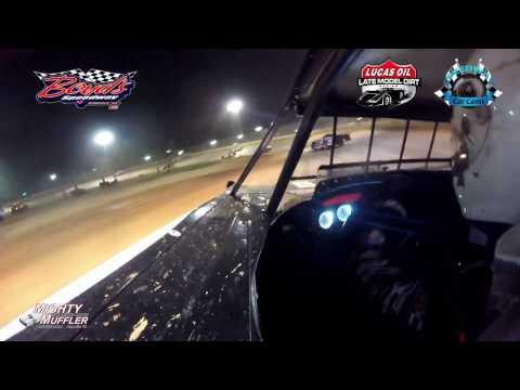 #17m Dale McDowell - Lucas Oil Late Model Dirt Series - 3-31-17 Boyd's Speedway - In-Car Camera