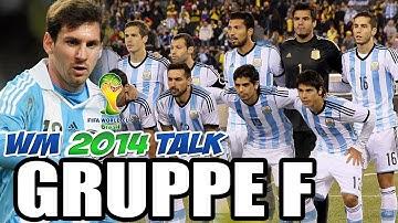 Fussball WM-TALK 2014 - GRUPPE F - Fussball Stammtisch zur FIFA WM 2014
