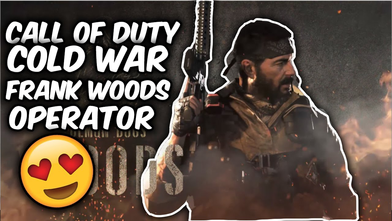 Call Of Duty Black Ops Cold War Frank Woods Operator Pack How To Get Frank Woods Youtube