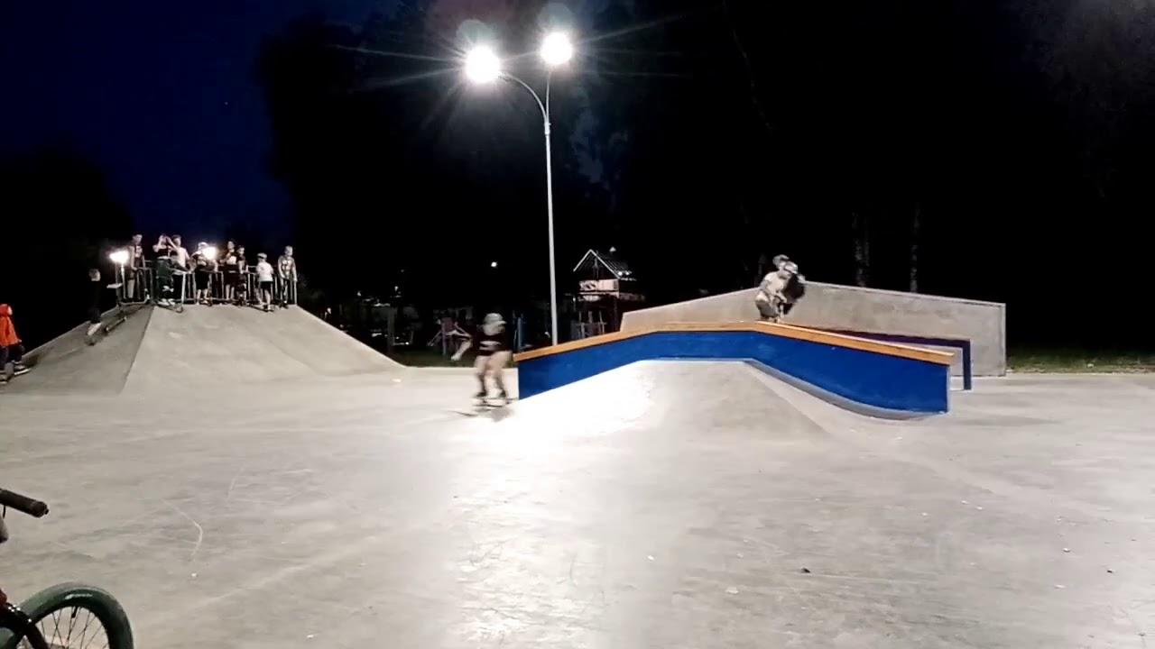 В Рязани открыли первый скейт-парк.
