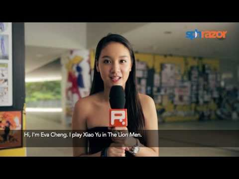 Hot babe beats 800 girls to kiss Tosh Zhang