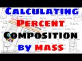 How to Calculate Percent Composition by Mass of Compounds and Molecules