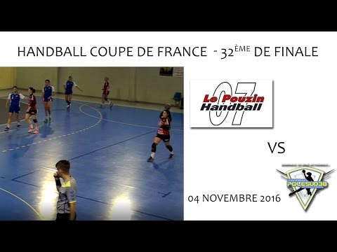 Handball CdF 32ème de Finale - LE POUZIN vs POLE SUD 38