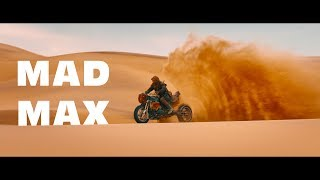 Mad Max: Fury Road. The best scenes with motorcycles!