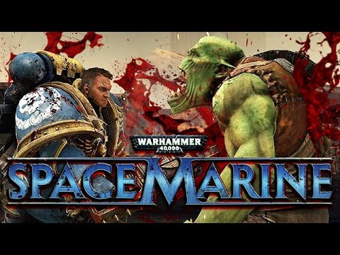 Warhammer 40k Space Marine Gameplay German - Orkspalter Titus
