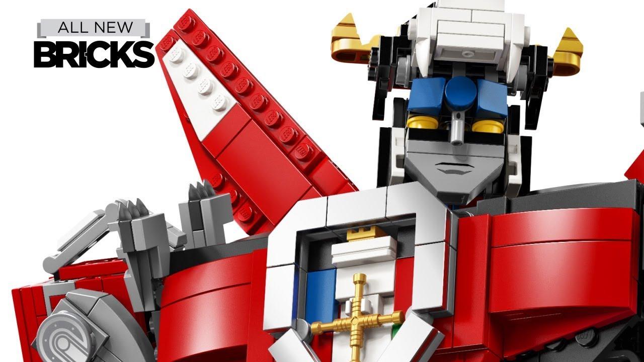 Lego Ideas 21311 Voltron Official Images - 2,321 Pieces - $179.99 - August 2018