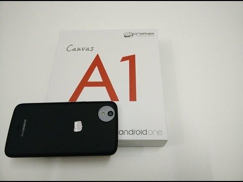 Micromax Canvas A1 (Android One) Unboxing and Hands On Review