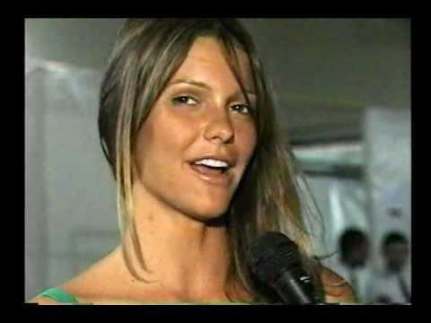 Fernanda Lima 04 10 2002, entrevista com Francisco Chagas no Over Fashion