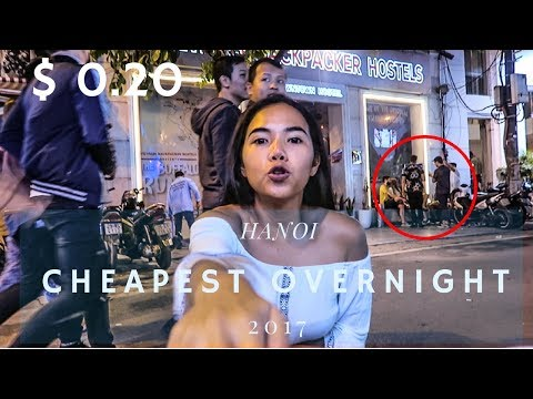 OVERNIGHT IN HANOI VIETNAM | 2017 |