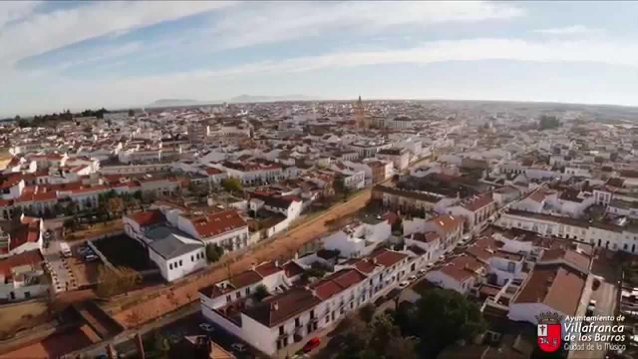 Villafranca de los barros badajoz extremadura youtube for Oficina turismo badajoz