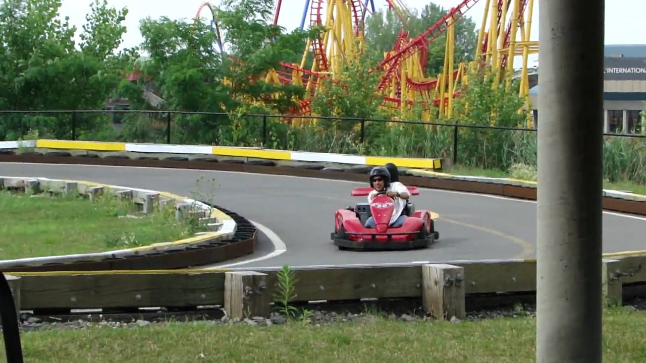 Go kart la ronde montreal 1080 hd youtube for Go kart interieur montreal