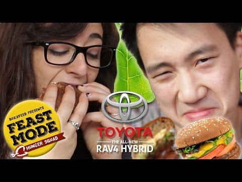 Veggie Burger Telephone • Feast Mode Hunger Squad  // Sponsored By Toyota Rav4 Hybrid