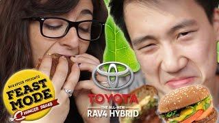 Veggie Burger Telephone • Feast Mode Hunger Squad  // Sponsored By Toyota Rav4 Hybrid thumbnail