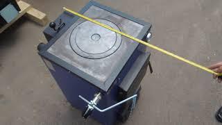 Твердотопливный котел с плитой 12 кВт Макситерм Кантри доставка БЕСПЛАТНО по СНГ