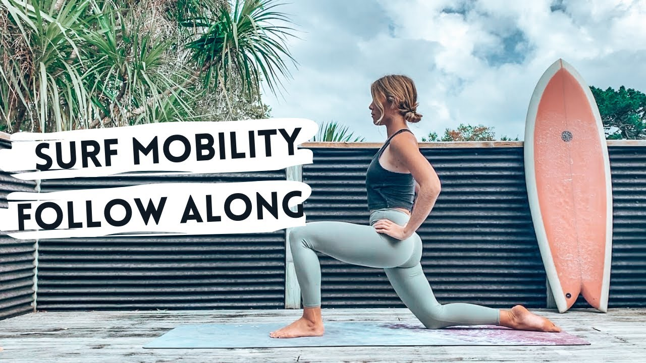 Want To Surf More Fluidly? Check Out This Mobility and Flexibility Follow Along Routine with Ruby