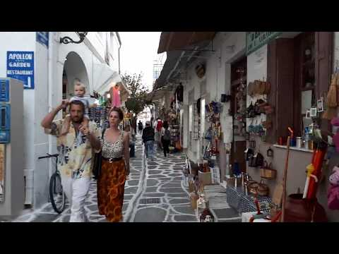 The Old Town of Parikia(Island of Paros,Greece) with Daniel Dimitrov