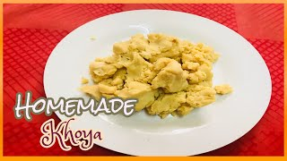 How to make khoya or mawa from milk powder | instant khoya/mawa recipe |Janmastami Special