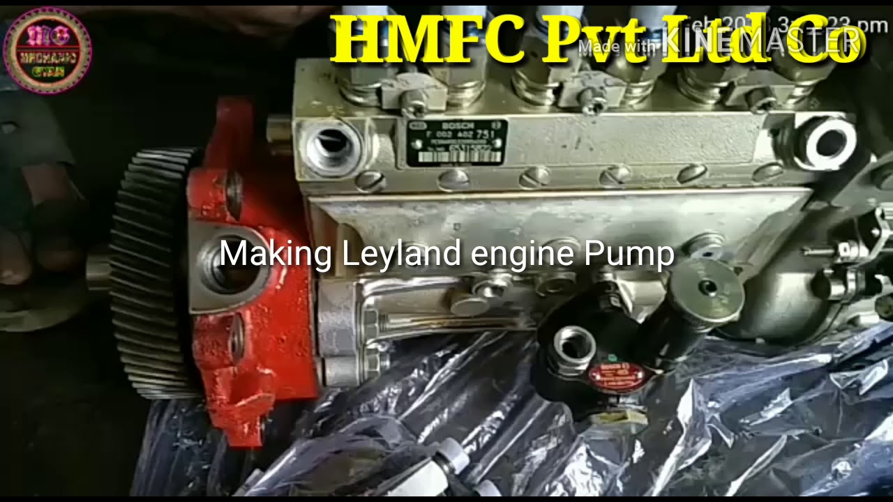 How to Pump Engine Timming For Ashok Leyland U-2518T, by HM Freight Career  Pvt Ltd Company Satna