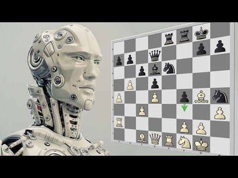 Шахматные движки играют разменную Французскую