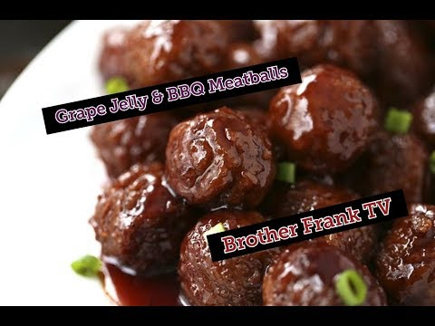 Frozen meatball recipe with grape jelly and chili sauce
