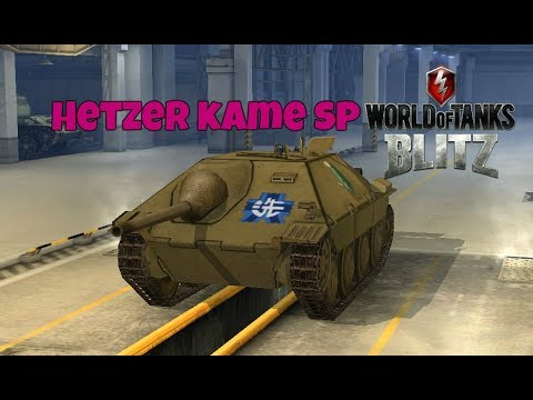 Hetzer Kame SP - World Of Tanks Blitz