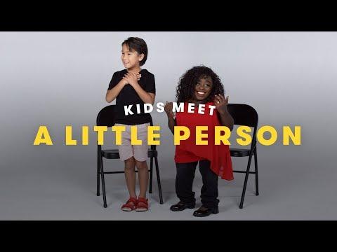 Kids Meet a Little Person   Cut