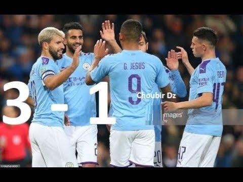 Manchester City Vs Southampton 3-1 Football League Cup  29/10/2019