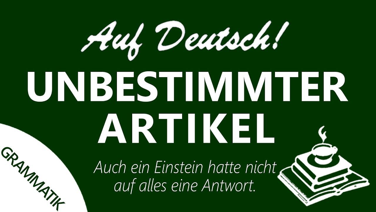 Artikelgebrauch (#2) | Auf Deutsch!