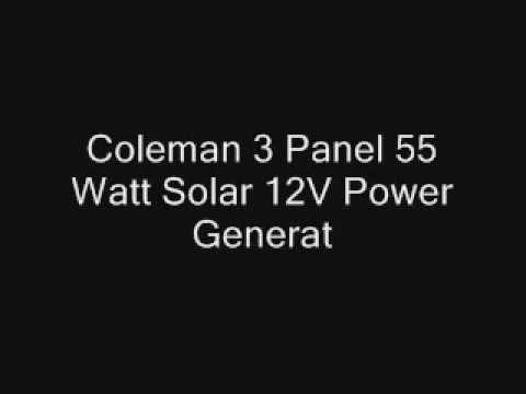 Affordable solar power system for home price | Coleman 12V Power Generator Kit