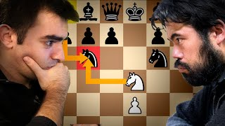 I played the Stafford Gambit against Hikaru... and then he played it against me