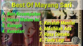 8 Lagu Terbaik Mayang Sari, suara jernih NO IKLAN!!