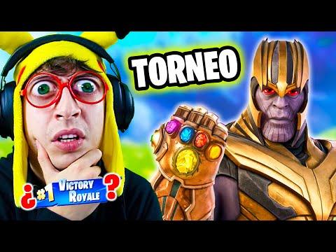 TORNEO de **THANOS** Marvel Avengers en Fortnite Battle Royale!! (Copa Nueva Skin Gratis Challenge)