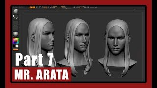 [Arata's Legend] Part 7 - Character Modeling in ZBrush