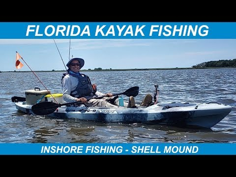 Florida Kayak Fishing – Inshore Fishing- Shell Mound