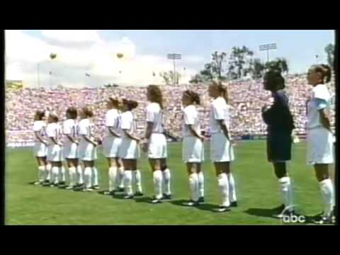 US Soccer  National Anthem from 1999 FIFA Women's World Cup