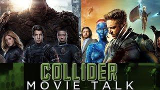 Collider Movie Talk - X-MEN and FANTASTIC FOUR Crossover? JURASSIC WORLD Sequel