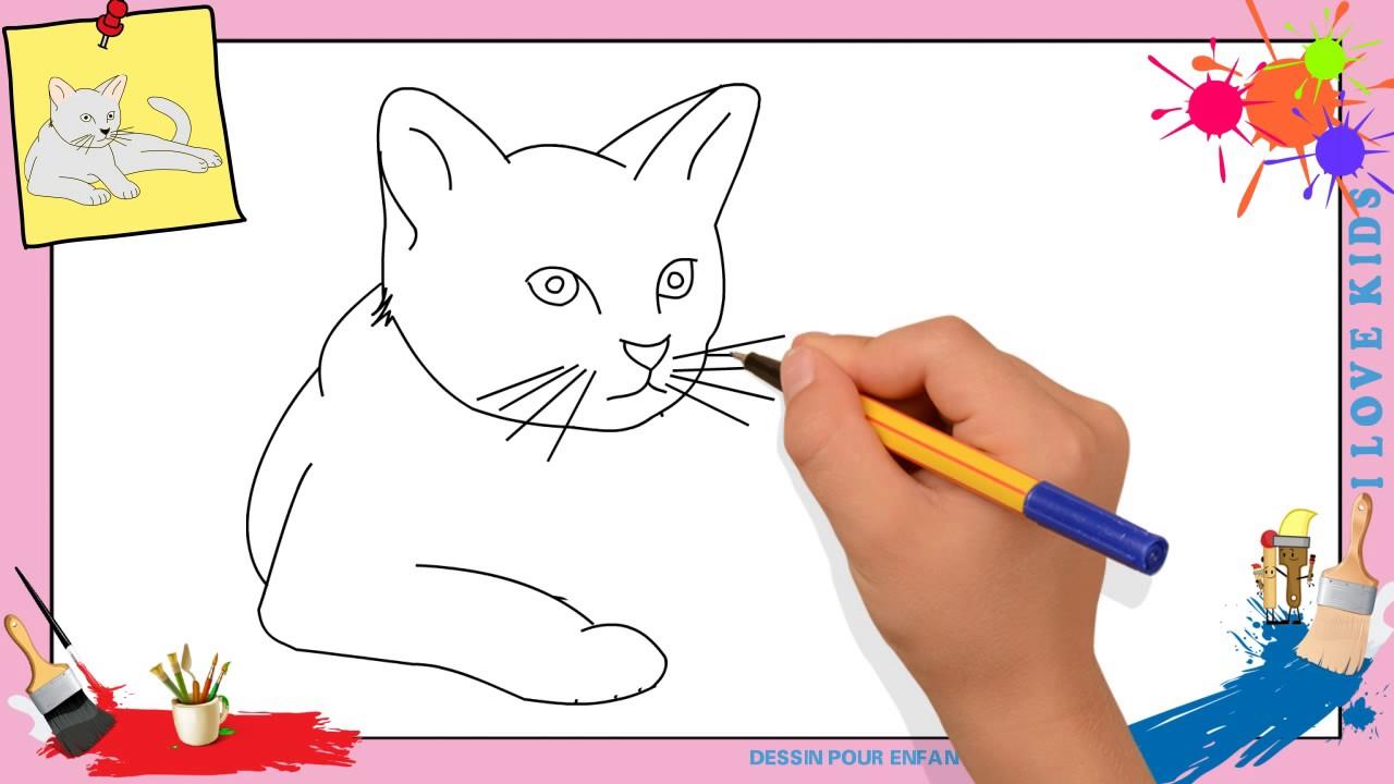 Coloriage Coeur Et Chat.Dessin Chat 2 Comment Dessiner Un Chat Facilement Etape Par Etape