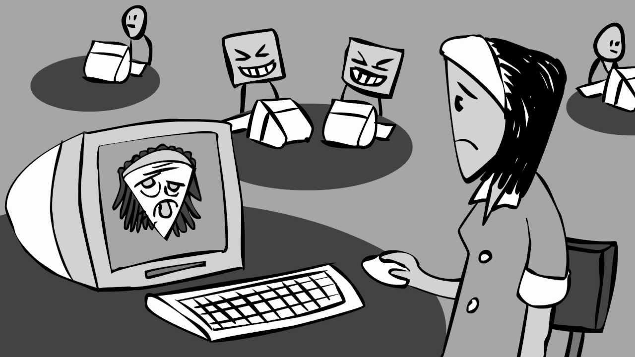 cyber bullying clipart [ 1280 x 720 Pixel ]