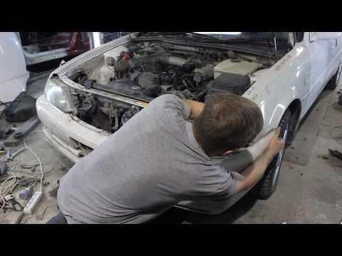 Замена ноуската (телевизора) Toyota Cresta 100 105 Томск