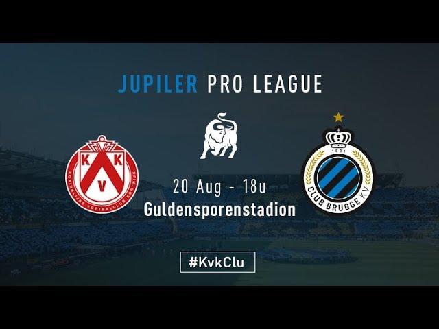 KV KORTRIJK - CLUB BRUGGE | Matchverslag | 2017-2018