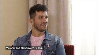 Интервью с Артуром Сита для литовского телевидения