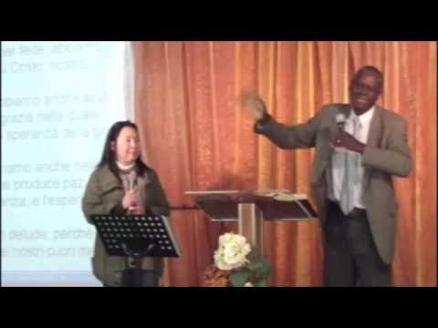Predicazione del fratello Jeffrey del 21/04/2013. Chiesa Effata