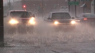 Dalhart, TX Slammed by Golfball Sized Hail 4/15/2016