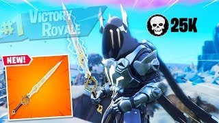 the most insane fortnite infinity blade gameplay you'll ever see